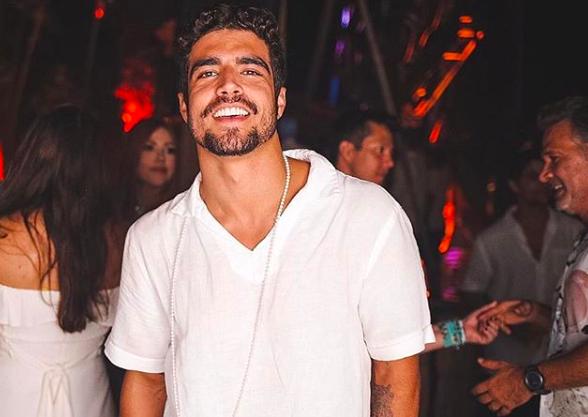 O famoso ator da Globo, Caio Castro se tornou um dos assuntos mais comentados da web ao ser desmascarado publicamente (Foto: Reprodução/Instagram)