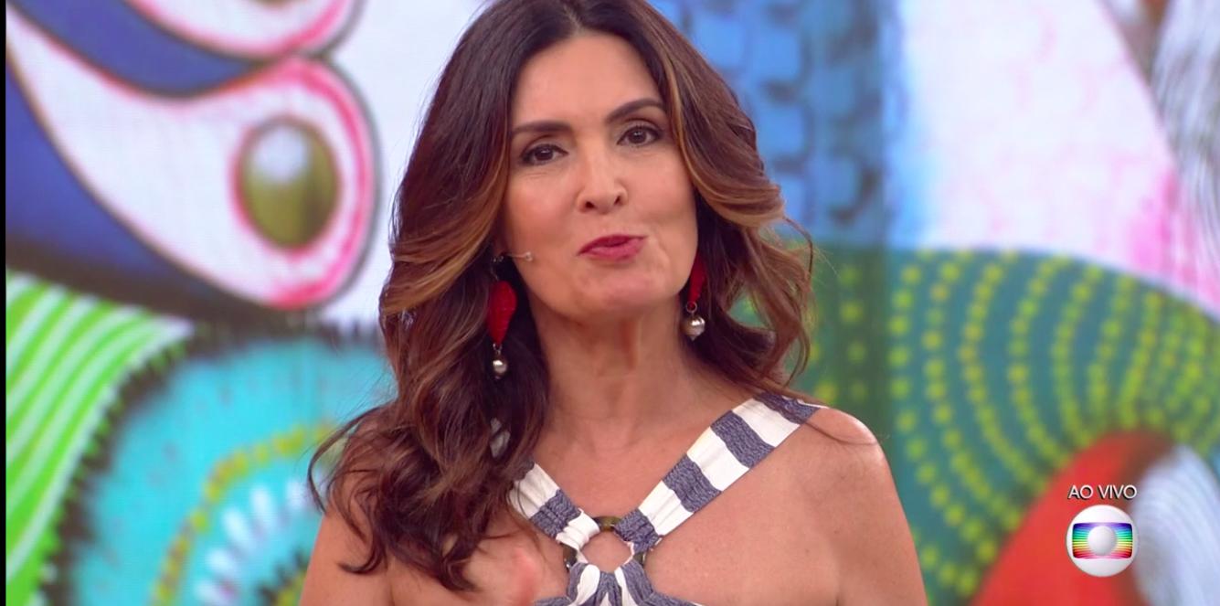 A famosa apresentadora do Encontro, Fátima Bernardes fala sobre novo câncer de Ana Maria Braga (Foto: Reprodução/ Globoplay)