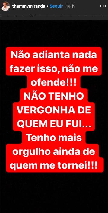 O Globo empresário e político não pouco palavras (Foto: Reprodução/Instagram)