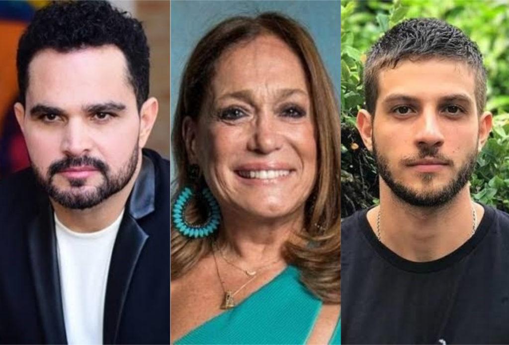 Welson David, Roobertchay Domingues e Sônia Maria Gonçalves, pessoas que você ama mas não sabia o verdadeiro nome (Foto: montagem TV Foco)