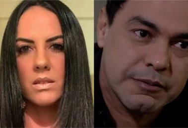 Graciele Lacerda expôs crise no relacionamento com Zezé Di Camargo (Foto: Divulgação / Montagem/ TV Foco)