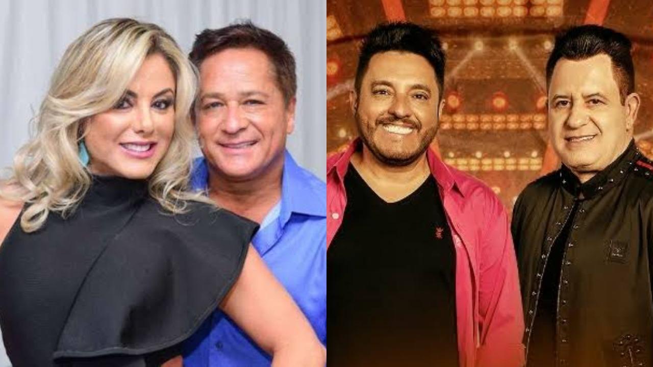 Poliana Rocha, esposa de Leonardo, levou cantada de Bruno, da dupla com Marrone (Foto: Reprodução/Instagram/Montagem TV Foco)