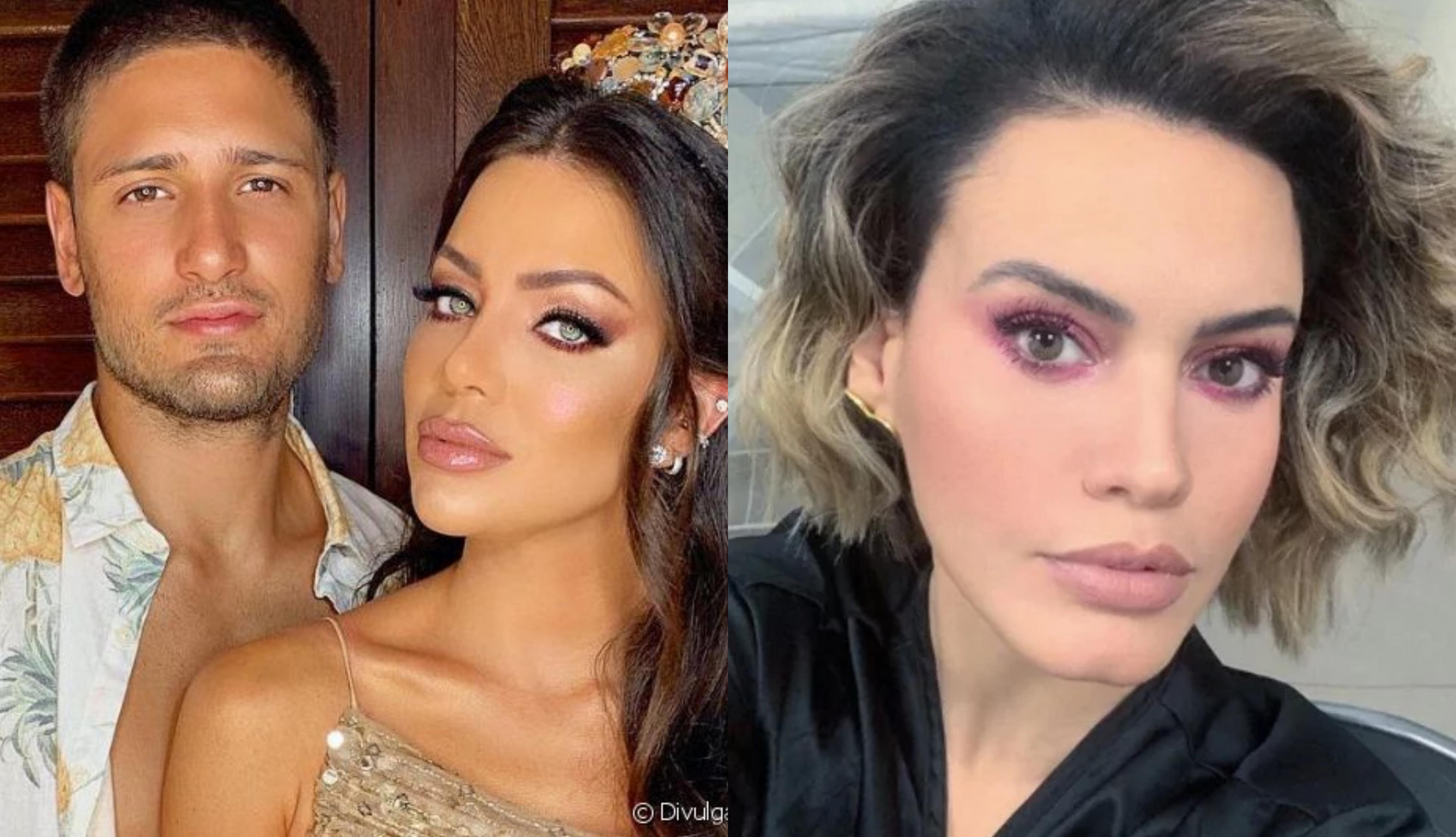 A ex-mulher do famoso ator da Globo, Daniel Rocha, Laíse Leal já tinha ciúmes de Letícia Lima antes de os dois se envolverem (Foto: Montagem TV Foco)