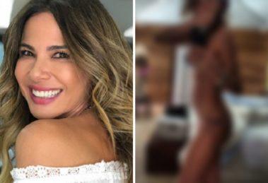 Luciana Gimenez ostenta joias milionárias e espanta pelo clique seminu com todas elas