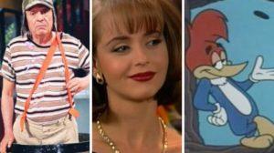 TV; Chaves, A Usurpadora e Pica-Pau