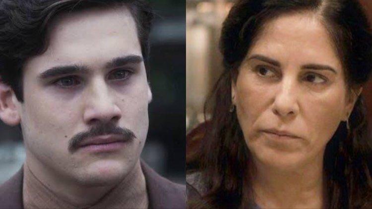 Alfredo e Lola de Éramos Seis (Montagem: TV Foco)