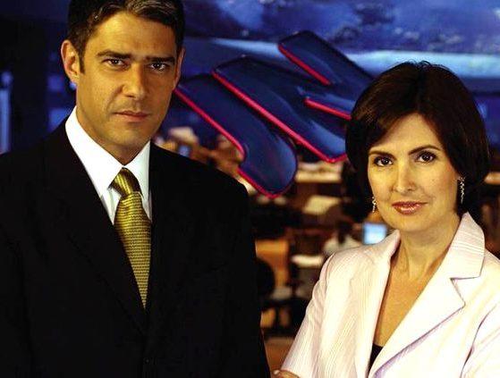 William Bonner e Fátima Bernardes
