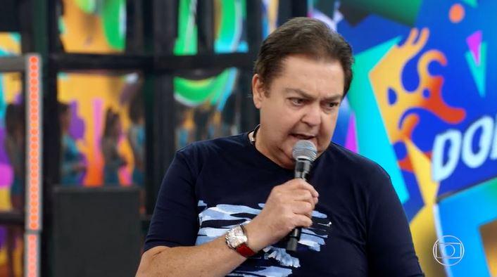 Faustão (Foto: Reprodução/Globoplay) Domingão