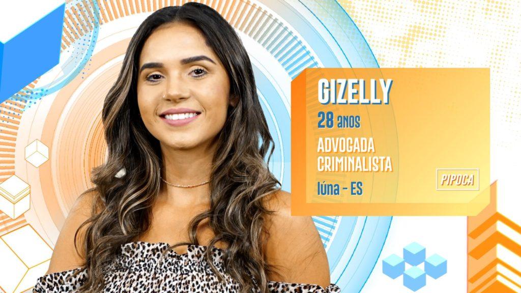 Gizelly BBB20 (Foto: Divulgação/ Globo)
