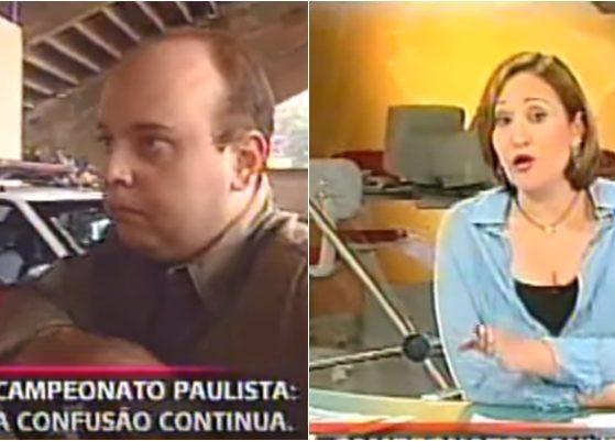 Sônia Abrão fez a cobertura de confusão envolvendo Globo e SBT. (Foto: Montagem/Reprodução/YouTube/Arquivo Marckenzini)