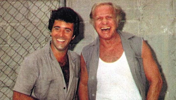 Tony Ramos e Jardel Filho atuaram juntos na novela Sol de Verão, da Globo. (Foto: Divulgação)