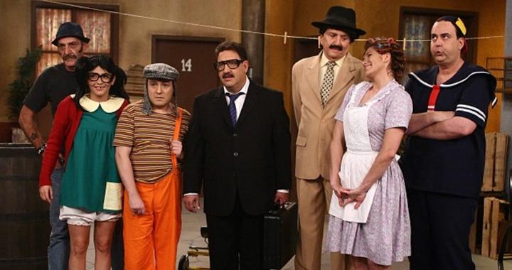 SBT produziu especial em 2011 com seu elenco revivendo personagens de Chave. (Foto: Divulgação)