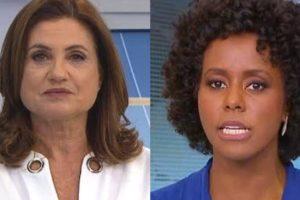 Isabela Scalabrini e Maju Coutinho, da Globo