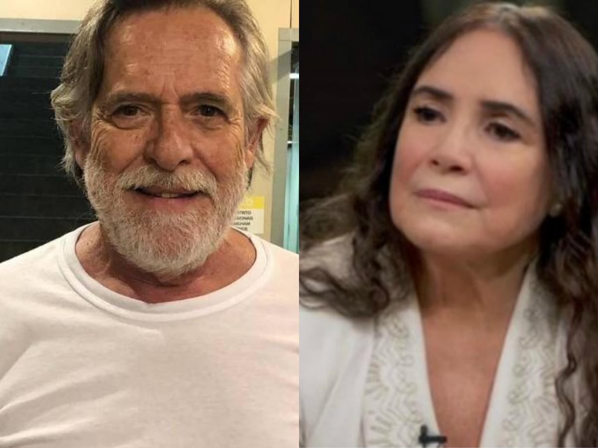Após Regina Duarte ser indicada ä Secretaria da Cultura, o famoso ator da Globo, José de Abreu tira sarro da artista (Foto: Montagem TV Foco)