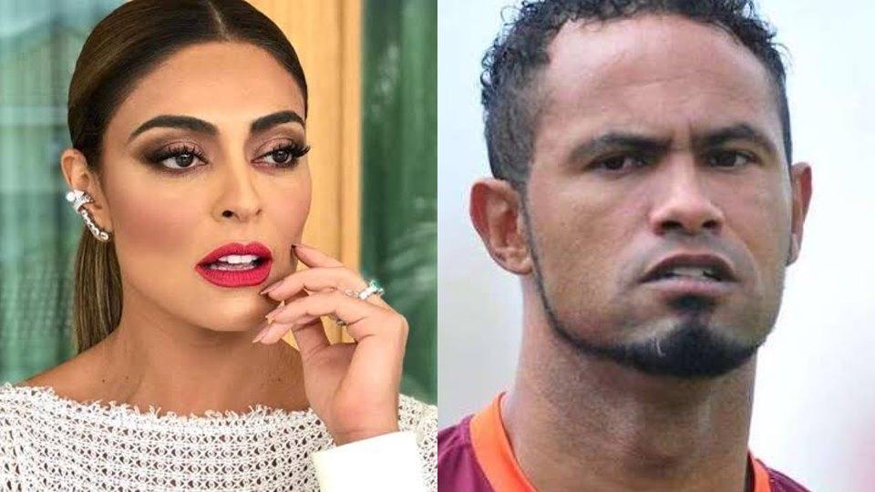 Juliana Paes faz campanha contra goleiro Bruno (Montagem: TV Foco)