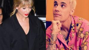 Taylor Swift expulsa Justin Bieber por ele estar treinando no horário que estava reservado para ela (Foto: Reprodução)