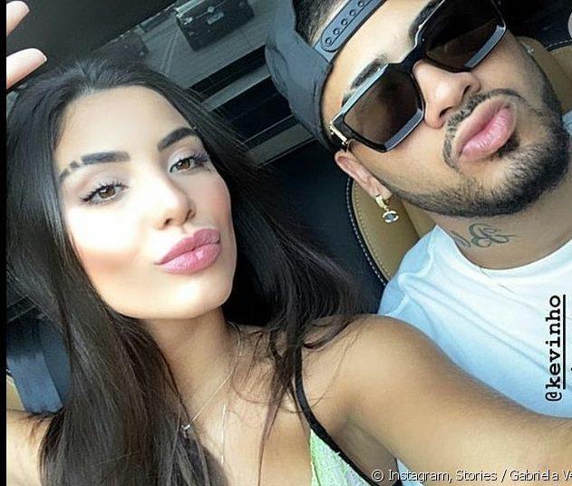 Kevinho e Gabriela Versiani (Imagem: Instagram)