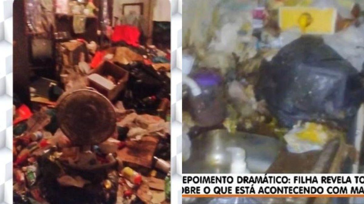 O programa A Tarde é Sua mostrou como está o interior da casa de Marina Miranda (Foto: Reprodução/RedeTV!)