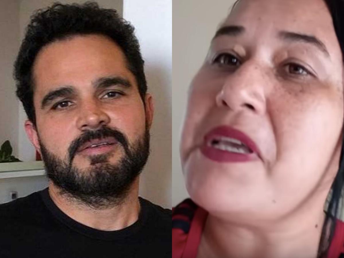Luciano Camargo e sua ex-mulher, Cleo Loyola (Foto: Reprodução)