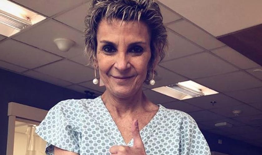 Ludmila Ferber está na luta contra o câncer (Foto: Reprodução)