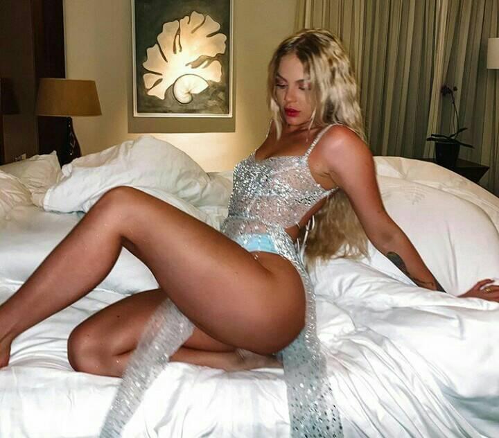 Luísa Sonza decidiu ousar e escolheu look transparente para virada do ano (Foto:Reprodução/Instagram)