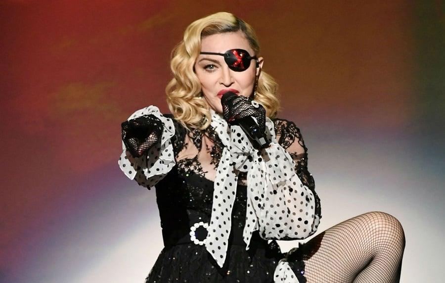 Madonna recebe muitas críticas após dizer que tamanho do pênis importa (Foto: Reprodução)