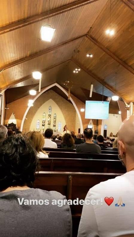Maiara aproveitou o domingo para ir a igreja (Foto: Reprodução/Instagram)