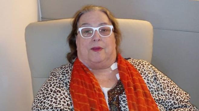 Apresentadora Mamma Bruschetta esta atualmente tratando de um câncer (Foto: Reprodução)