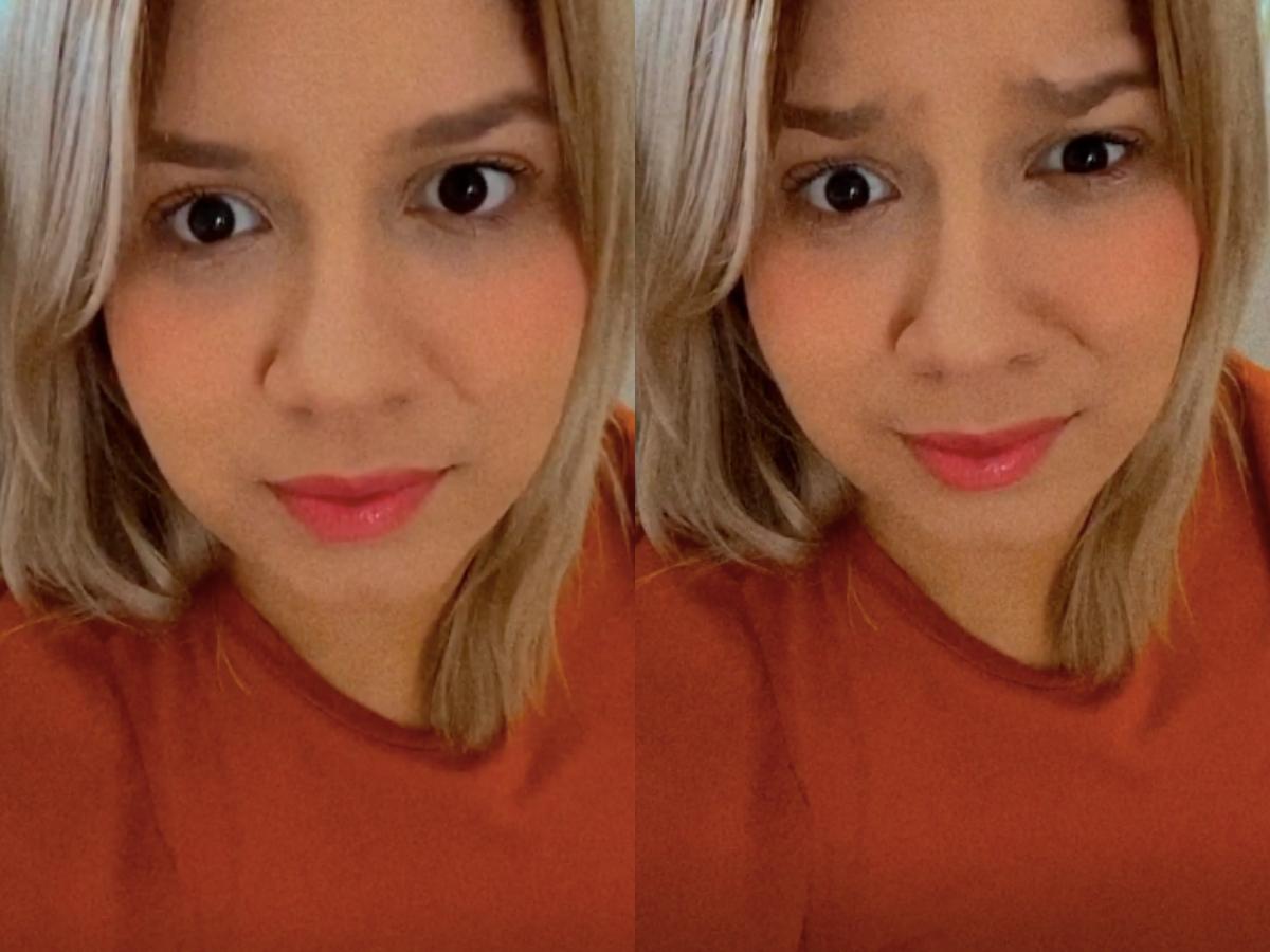 A famosa cantora sertaneja falou sobre sua reeducação alimentar em seu perfil da internet (Foto: Montagem TV Foco)