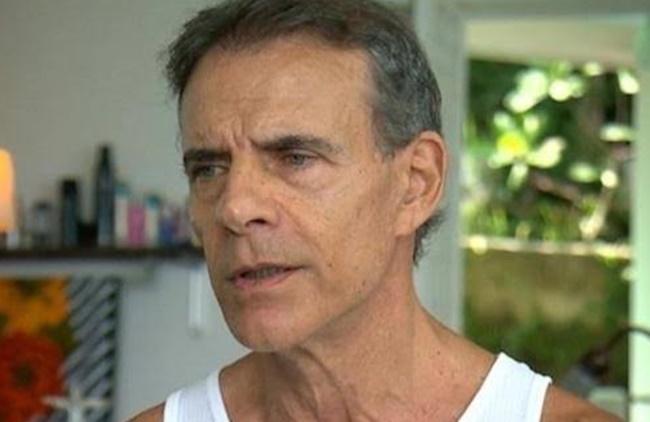 O ator e ambulante Mário Gomes atualmente está com 67 anos de idade (Foto: Reprodução)