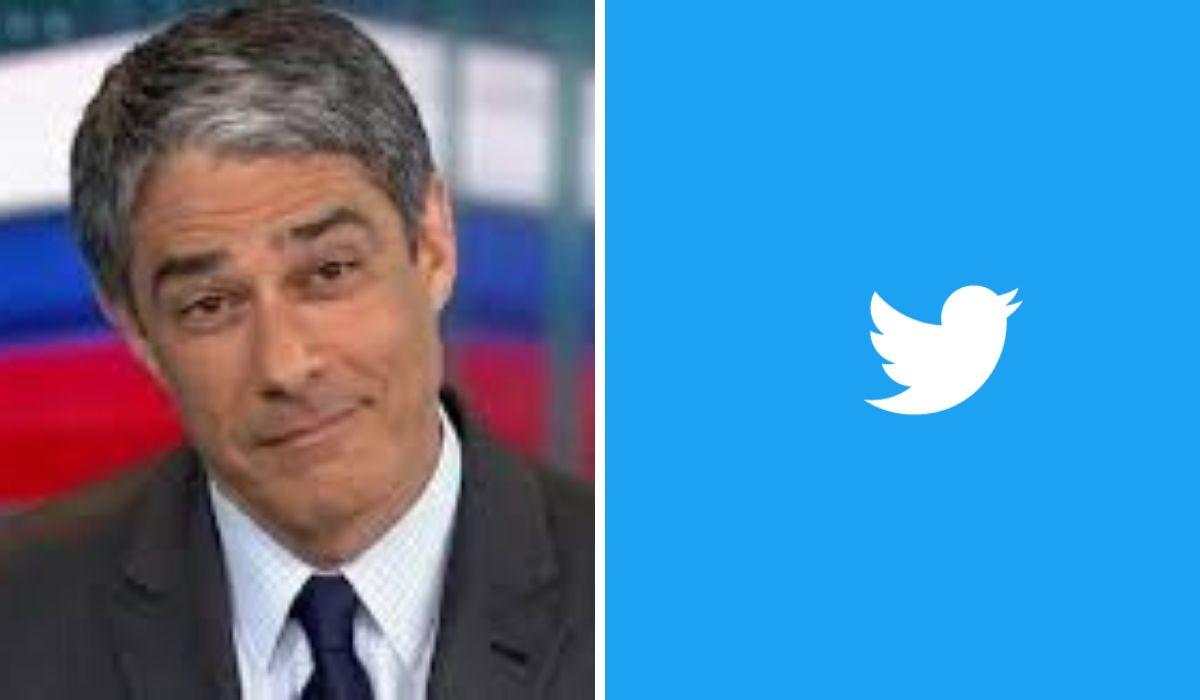 William Bonner, Globo, Twitter