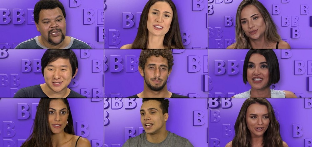 Participantes famosos do BBB20 (Foto: Montagem)