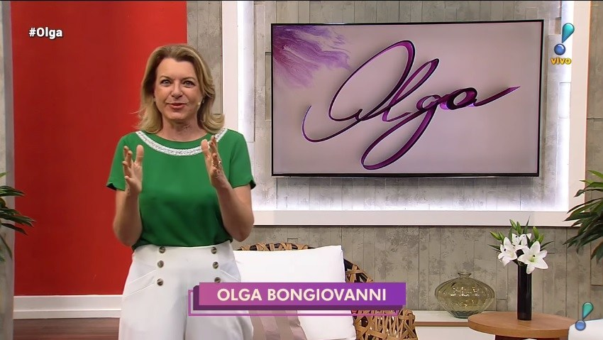 A RedeTV! surpreendeu e demitiu  Olga Bongiovanni de seu programa - Foto: Reprodução