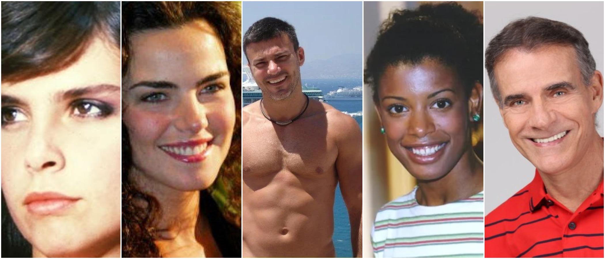 Nomes como Ana Paula Arósio, Lídia Brondi, entre outros, sumiram da TV após enorme sucesso de público (Reprodução) globo