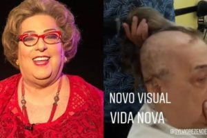 Mamma Bruschetta luta contra um câncer (Foto: Reprodução/SBT/Instagram/Montagem TV Foco)