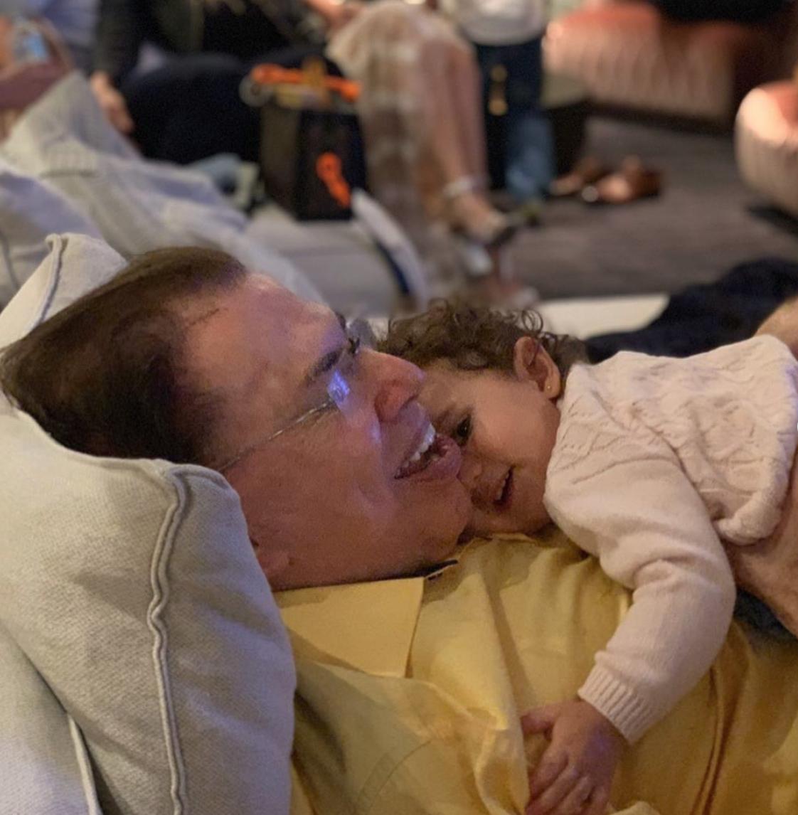 Pai de Patrícia Abravanel, Silvio Santos já mostrou ser um avô babão