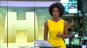 Maju Coutinho anunciou demissão ao vivo na Globo - Foto: Reprodução
