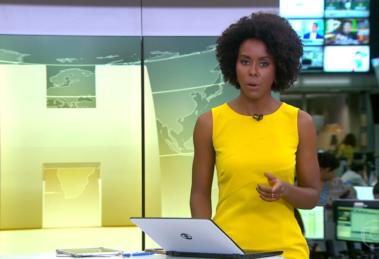 Maju Coutinho saiu em defesa de Patrícia Campos Mello (Foto: Reprodução)