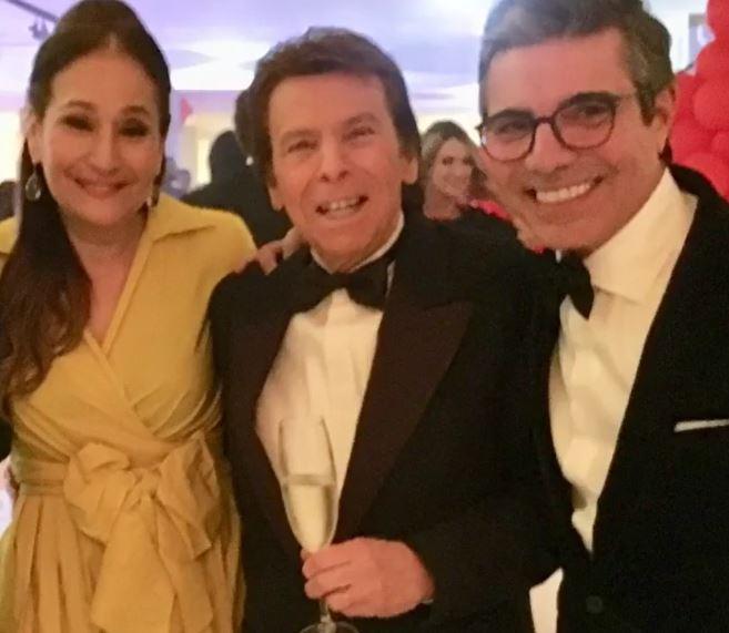 Sonia Abrão, Nelson Rubens e João Kléber (Foto: Reprodução/Instagram)