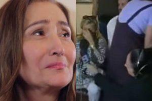 Sonia Abrão já foi agredida poe equipe da TV Globo durante a cobertura do caso Gerson Brener em 1998 (Montagem: TV Foco)