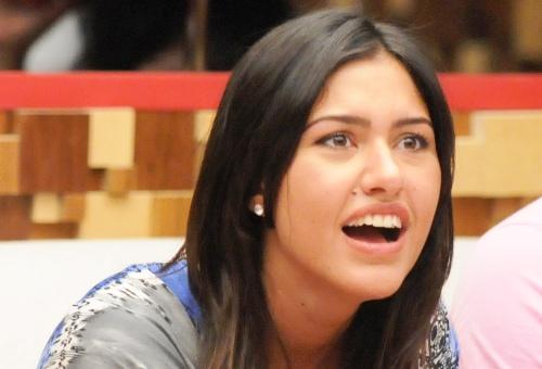 Tessália foi a terceira eliminada do BBB10 (Foto: Reprodução/Globo)