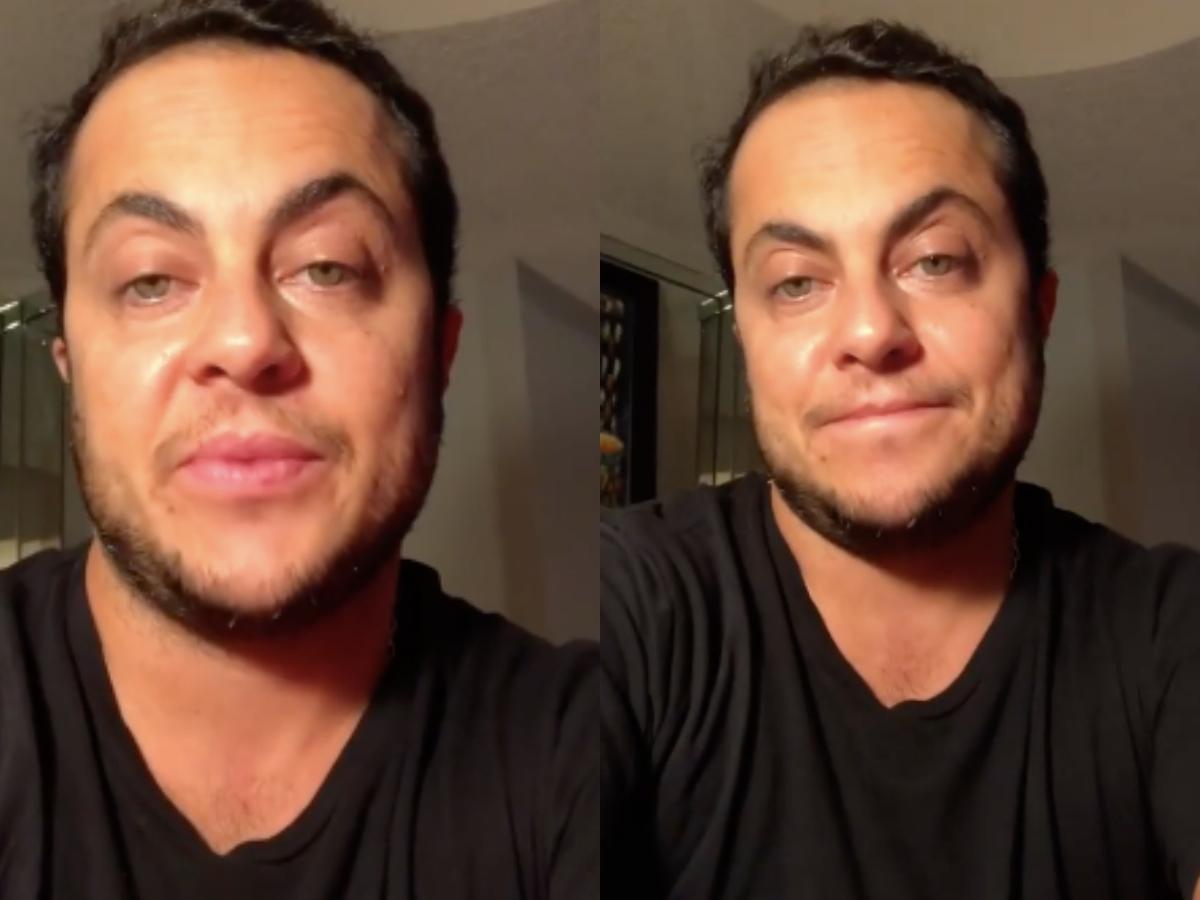 Após recebeu milhares de críticas e ataques, o famoso ex-ator da Globo, Thammy Miranda resolveu colocar a boca no trombone e garantiu que irá contar sobre a sua transexualidade para seu filho, Bento (Foto: Montagem TV Foco)