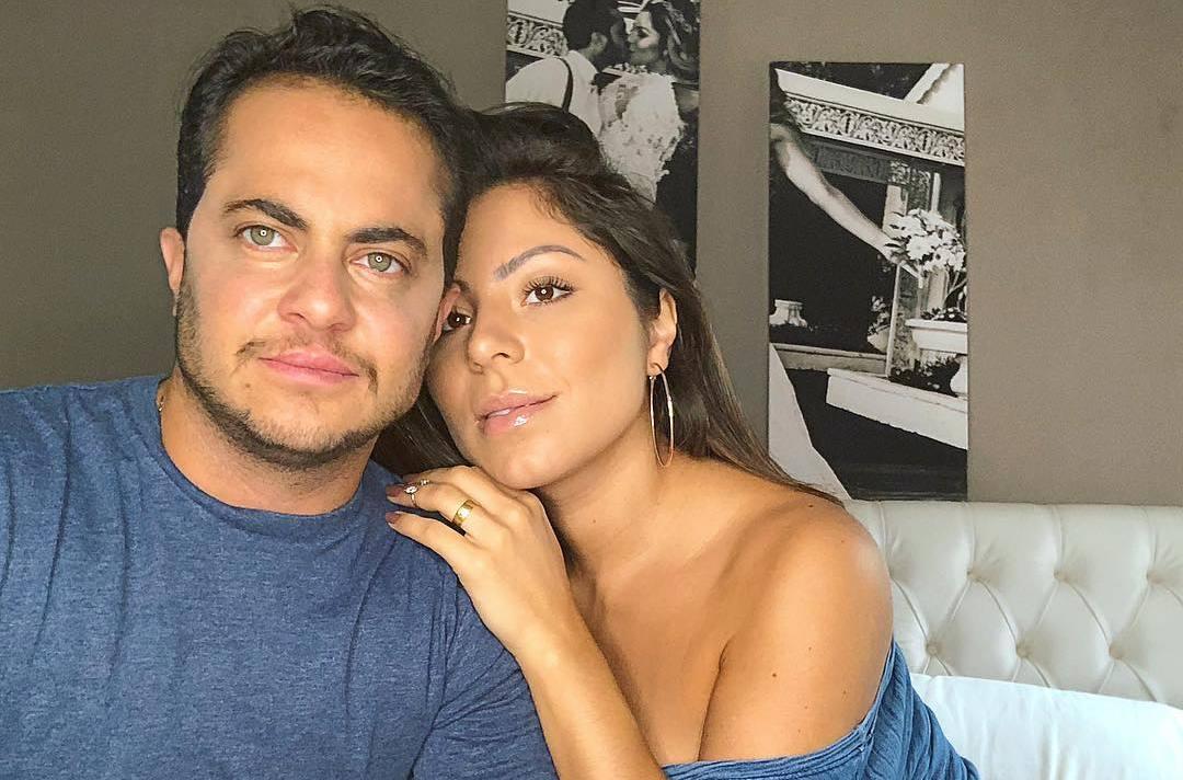 Thammy Miranda e Andressa Ferreira esperam o primeiro filho (Foto: Reprodução)