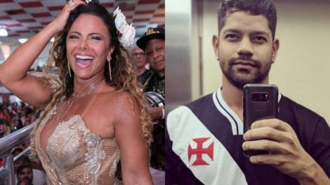 A famoso atriz da Globo e rainha de bateria, Viviane Araújo deixou os seus seguidores de queixo caído ao exibir seu amado nas redes sociais (foto: reprodução/Instagram)