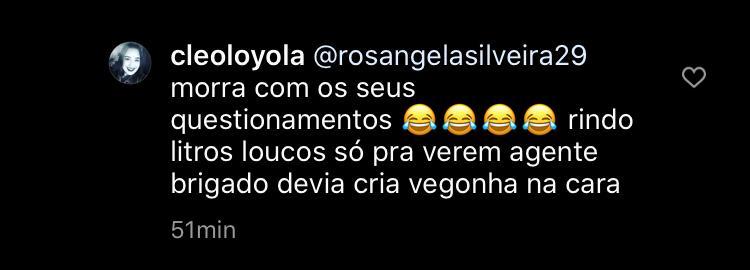 Cleo Loyola e Wesley Camargo se envolveram em barraco nas redes sociais (Foto: Reprodução/Instagram)
