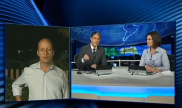 William Bonner, Fátima Bernardes, Marcos Uchôa