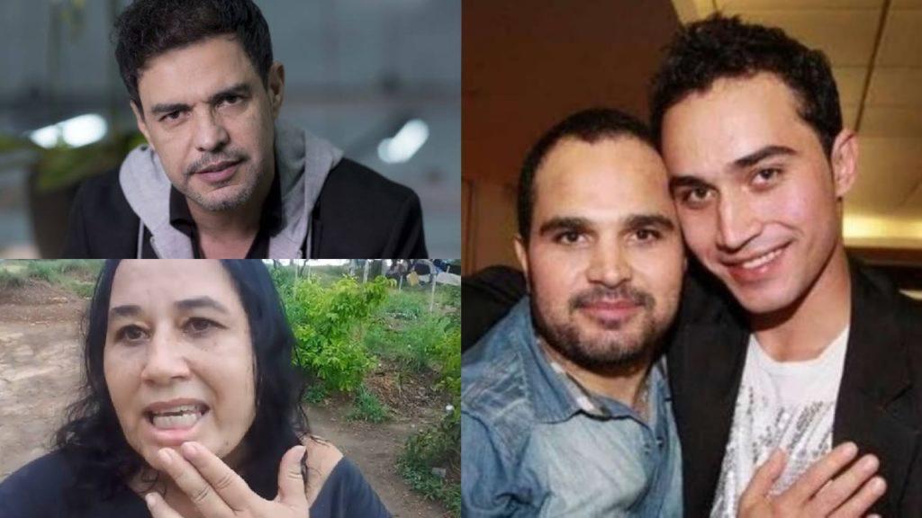 Wesley Camargo, filho de Cleo Loyola, não fala com Luciano Camargo, mas foi à mansão de Zezé (Foto: Reprodução/Instagram/Divulgação/Montagem TV Foco)