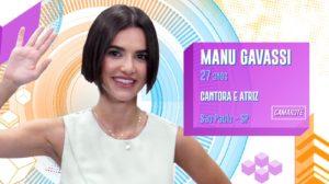 globo Manu Gavassi BBB20 (Foto: Divulgação/ Globo)