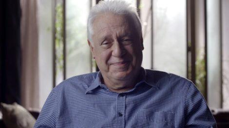 Alberto (Antonio Fagundes) em cena do último capítulo de Bom Sucesso (Foto: Reprodução/Globo)