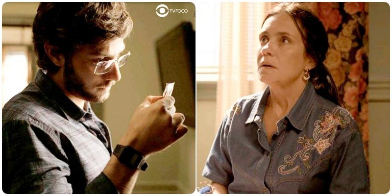 Danilo confronta Thelma em Amor de Mãe